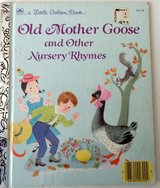 Vintage 1988 Old Mother Goose & Other Nursery Rhymes * A Little Golden Book. in Joliet, Illinois