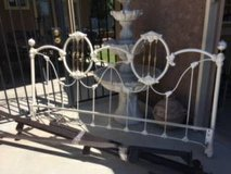 CA. King Size Headboard with Frame in Travis AFB, California
