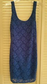 Junior stretchy size small royal blue sleeveless dress in Camp Pendleton, California