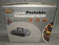 2 BROTHERS 14 Inch Portable Charcoal Grill - NEW in Oswego, Illinois
