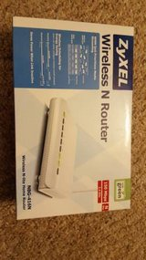 ZyXEL Wireless N WiFi Router New in Box in Elgin, Illinois