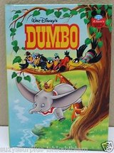 Walt Disney Dumbo Hardcover Book 1996 Disney's Wonderful World of Reading in Morris, Illinois