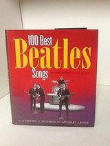 100 Best Beatles Songs - Hardcover Book w Dust Jacket in Chicago, Illinois