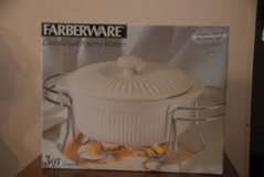Christmas Gift? FARBERWARE CANDLELIGHT SERVE WARE - NEW IN BOX  JUST REDUCED! in Byron, Georgia