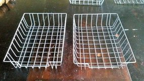 2 SMALL METAL WIRE BASKETS in Joliet, Illinois