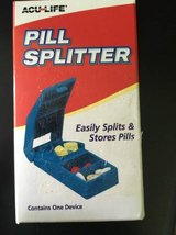 NEW UNOPENED ACU LIFE PILL SPLITTER in Aurora, Illinois
