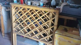 2-Vintage Twin Cali-Asian Bamboo Headboards in Yucca Valley, California