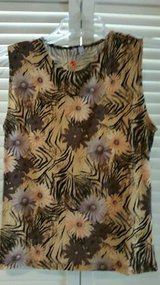 A ladies new sleeveless stretchy shirt in Camp Pendleton, California