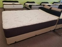 Queen & King Luxury HIGH DEFINITION Plush Latex Mattress w/ DELIVERY in Aurora, Illinois