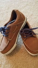 Brown Boys Boat Shoes Size 12 in Naperville, Illinois
