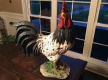 Giant Rooster Decor in Fort Campbell, Kentucky