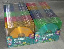Maxell 700MB CD-R for Audio Recording 50-Pack with Jewel Cases in Aurora, Illinois