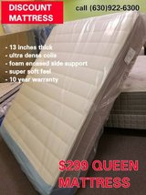 "BEST SELLER * SUMMER SALE 14"" THICK ""GOLD"" Pillowtop Mattress FREE S&H in Glendale Heights, Illinois"
