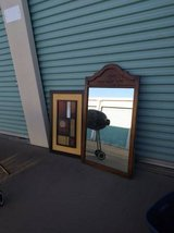 Abstract Art Decor and the mirror in Travis AFB, California