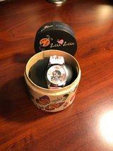 Brand New Zou Zou Pink Skull Women's Watch, Never Taken Out of Box in Oswego, Illinois
