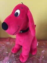 "Clifford the Big Red Dog  plush stuffed animal toy by Kohl's cares  14"" in Naperville, Illinois"
