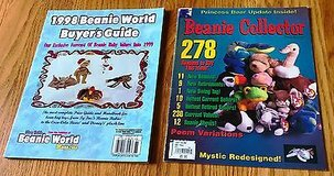 1998 Beanie World Buyer's Guide and Beanie Collector Spring Issue 1998 in Naperville, Illinois