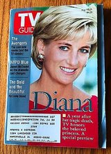 Princess Diana, the Avengers, NYPD Blue - 1998 TV Guide in Naperville, Illinois