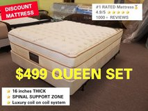 #1 RATED MATTRESS on GOOGLE 50 to 75% OFF! LIMITED AMOUNT. in Naperville, Illinois