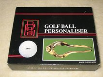 Golf Ball Personalizer - NEW IN BOX in Chicago, Illinois