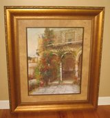 "ART - Large Framed Tuscany Scene Print - 37"" W x 43 1/2"" H in Naperville, Illinois"