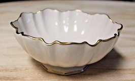 LENOX Small Bowl w/24 kt Gold Scalloped Edges - Nuts, Candy in Bolingbrook, Illinois