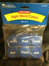 Learning Resources Sight Word Cubes in Aurora, Illinois