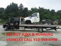 EASTSIDE AUTO SALVAGE BUYS RUNNING AND JUNK CARS in Camp Lejeune, North Carolina