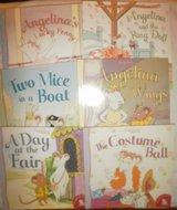 new angelina ballerina 6 books paperback rag doll lucky penny costume ball wings in Chicago, Illinois