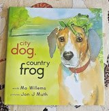 NEW City Dog, Countr Frog Age 3 - 6 Children's Hard Cover Book w  Dist Jacket in Joliet, Illinois