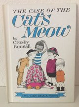 Vintage 1965 The Case of The Cat's Meow Ages 4 - 8 Children's Hard Cover Book in Morris, Illinois