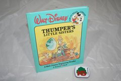 RARE Vintage 1986 Walt Disney Thumpers Little Sisters Hard Cover Book in Morris, Illinois