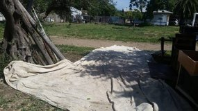 Vacaville - 18ft by 30ft Canvas Drop Cloth/Orchard Cloth / BURNING MAN in Travis AFB, California