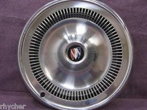 "vintage 1960's to1970's buick wheel covers set of 4 with 2 rings. very clean 14"" in Naperville, Illinois"