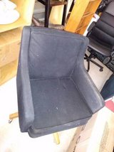 Vintage Black Rolling Chair for Office of Kitchen in Travis AFB, California