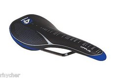 4za men's cirrus light alloy rail saddle, width 130mm/length 280mm, black/blue in Chicago, Illinois