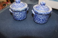 small blue ginger jar, storage jars, jars with lids in Pearland, Texas