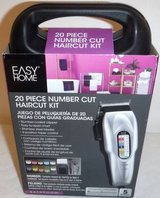 New! Easy Home 20pc Number Cut Haircut Kit in Lockport, Illinois