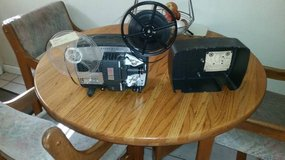 8mm film projector - missing electric cord- not sure if it works. in Vacaville, California