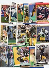 PITTSBURGH STEELERS 50 CARD PAST FOOTBALL LOT 50 DIFFERENT PLAYERS in Oswego, Illinois