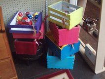 Homemade Wooden Crates (Various sizes and colors) (Eatonton, GA) in Warner Robins, Georgia