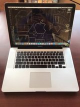 15 inch MacBook Pro, new battery, programs in Camp Pendleton, California