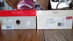 Guess & Coach Leather Shoes each in Joliet, Illinois