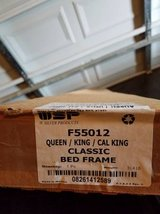 W. Silver Products F55012 Queen/King/Cal King Bed Frame in Fort Campbell, Kentucky