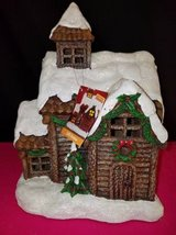 Exhart Holiday Log Cabin with Automatic Timer EXH1267 in Fort Campbell, Kentucky