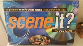 DVD Scene it Movie Trivia Game with real movie clips in Camp Pendleton, California