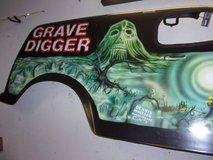 """""""Grave Digger"""" Monster Truck Body Picture in Fort Riley, Kansas"""