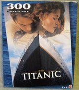 TITANIC PUZZLE OF THE MOVIE POSTER in Naperville, Illinois