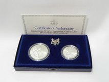 1993 bill of rights commemorative coins , 2 coins, uncirculated in Camp Lejeune, North Carolina