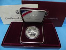 u.s. olympic 1988 one dollar coin with coa in Camp Lejeune, North Carolina